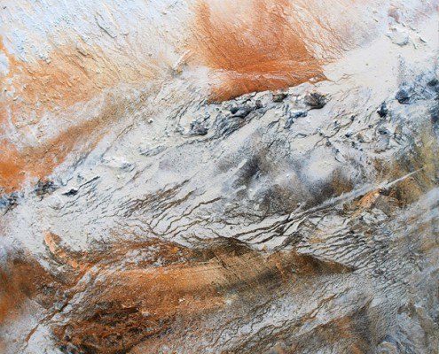 """Carsten Westphal - """"El-Sultani"""" - 150x150-Wüstensand auf Leinwand"""