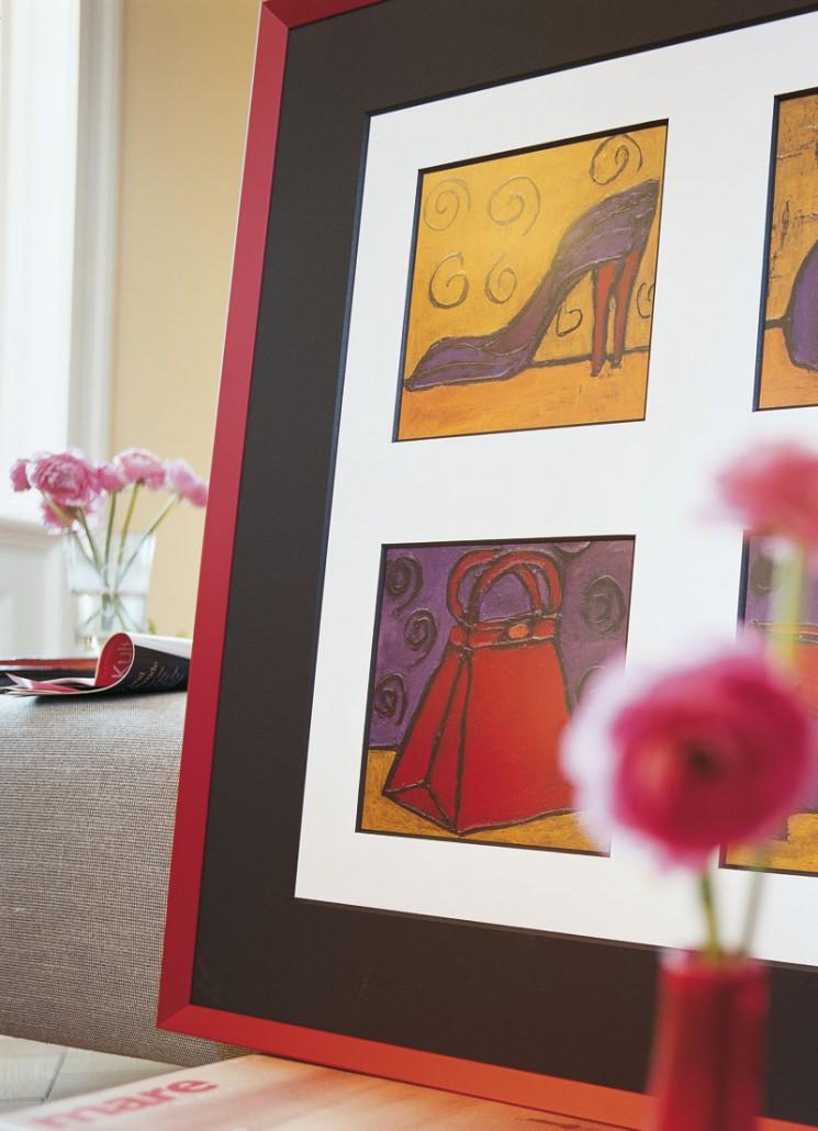 Einrahmung Galerie Kura