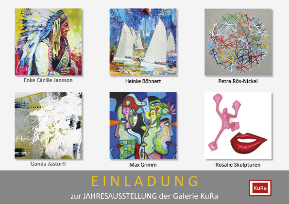 Einladung Galerie KuRa